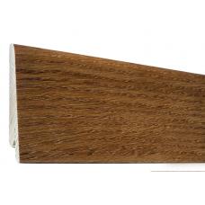 Плинтус шпонированный Орех Гранд 60 мм