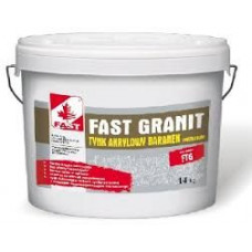 Мозаично - гранитная штукатурка Fast Granit 14 кг