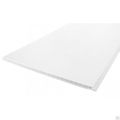 Вагонка пластиковая Белая ПВХ А03 Белый Глянец (8мм)