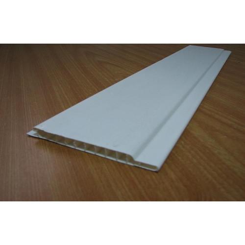 Вагонка пластиковая ПВХ Белая 8мм*100мм*3м