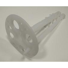 Дюбель зонтик 70х10 мм пластиковый сердечник