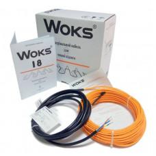 WOKS-18 двухжильный кабель 100 Вт, 6м