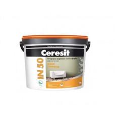 Ceresit IN-50 Basic интерьерная матовая акриловая краска, 10л