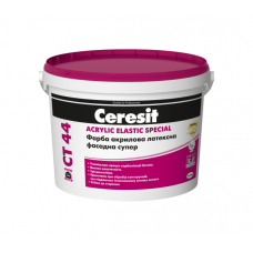 Ceresit СТ-44 краска прозрачная акриловая, 10л