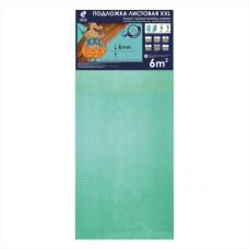 Подложка листовая под ламинат Solid Бирюзовая толщиной 6 мм