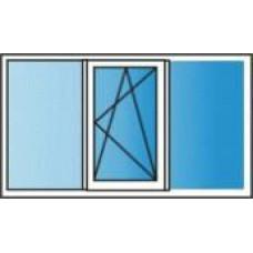 Металлопластиковые окна REHAU Euro 60 1800х1400 Однокамерное
