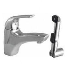 Смеситель для умывальника с гигиеническим душем и донным клапаном Sense 1 F7504000 AM PM