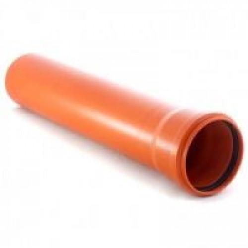 Наружная канализация Valplast труба ПВХ 110*6000*2.7mm