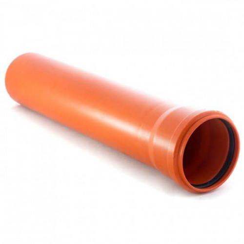 Наружная канализация Valplast труба ПВХ 400*6000*7.8mm