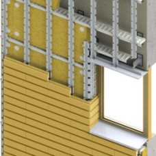 Вентилируемый фасад Scanroc 300 (Klinkerstone)