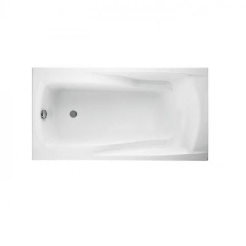 Акриловая ванна CERSANIT ZEN 160x85 (сифон в подарок)